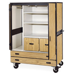 Mobile Cabinet by Virco